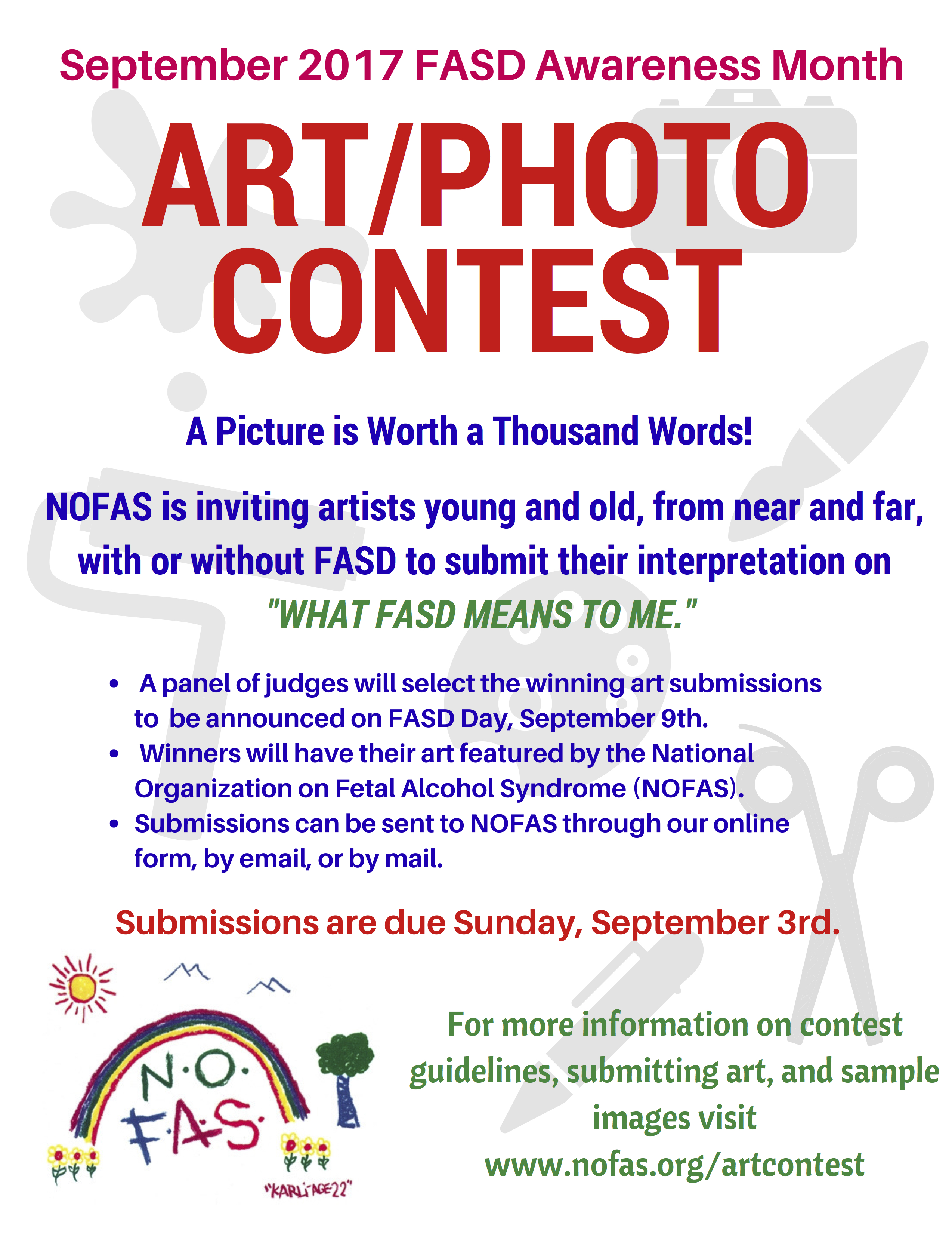 monthly teen art competition