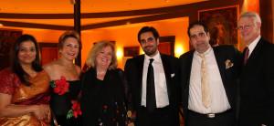 Ka Wade, NOFAS Board of Directors Chair Kate Boyce, Sheila Rabaut, Artin Afsharjavan, Wyly Wade and NOFAS Board MemberTom Rabaut