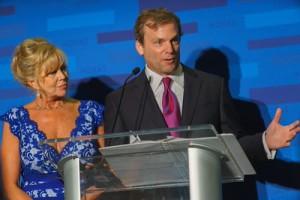 Tom Donaldson and Kathy Mitchell