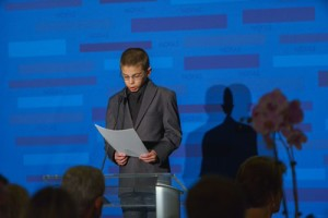 Nicholas Davis-Magliozzi at the NOFAS Gala.